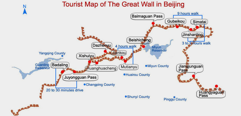 private beijing tours great wall badaling mutianyu simatai