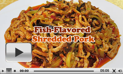 Chinese fish flavored shredded pork recipe yuxiang rousi fish flavored shredded pork forumfinder Image collections