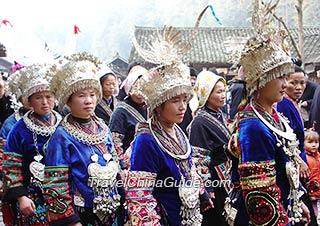 Miao minority people
