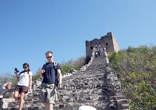 Jinshanling to Simatai Hike: Great Wall from Jinshanling to Simatai