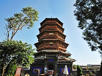 Wooden Pagoda in Yingxian County