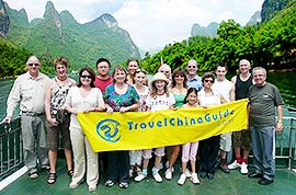 Li River cruise, Guilin