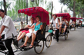Rickshaw tour in Hutongs