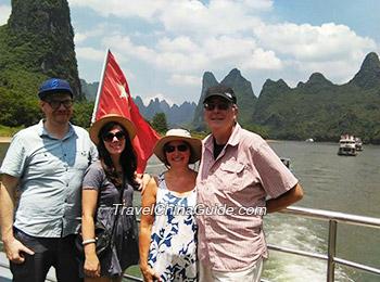 Relaxing Li River cruise