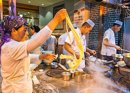 Muslim Quarter, Xian