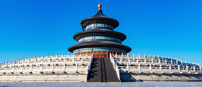 Admire the splendid architectures at the Temple of Heaven