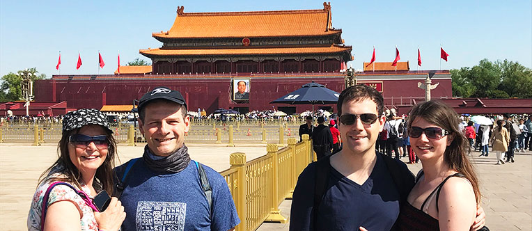 Take a walk around the largest city square in the world - Tiananmen Square