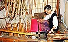 Shu embroidery is also called Chuan embroidery because it is mostly produced around Chengdu, Sichuan Province.