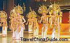 Thai dancing performance, Kunming