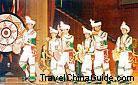 Chinese ethnic dancing performance, Kunming Expo99