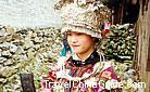 Silver decorated dressing of Miao girl