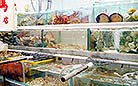 Lei Yue Mun in Hong Kong is renowned for seafood markets.