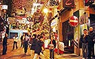 You can meet all kinds of people here in Lan Kwai Fong, Hong Kong. This is a place never knowing what loneliness is
