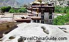 Celestial Burial Stage, Sera Monastery, Lhasa, Tibet