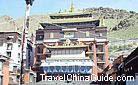 The 5th to 9th Panchen Lamas'' Stupa Chapels