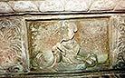 Lifelike carvings inside the Yongling Mausoleum, Tomb of Wang Jian
