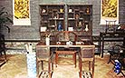Scholar's reading room in the Qing Dyansty