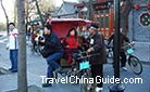 Rickshaw, a traditional transport of Beijing, could take you to visiting the narrows Hutongs easily.