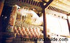 It is the largest sleeping Buddha statue in the Giant Buddha Temple in Zhangye.