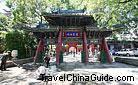 A varicolored arch in Chunyang Palace, Taiyuan