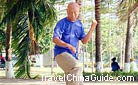Playing Tai Chi Quan is a good way to improve your health condition and cure the diseases.