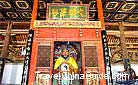 The Fu Xi Temple in Tianshui is the only temple with his statue. Fu Xi and his wife created this system to explain the complicated relations between nature and human beings.