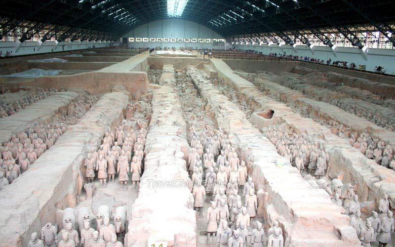 Xi U0026 39 An Museum Of Qin Terracotta Warriors And Horses