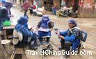 Naxi minority people, a main group of Baisha dwellers.