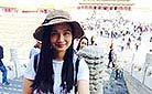 Lexi in Forbidden City, Beijing