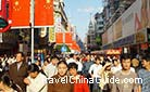 Crowded Nanjing Road on the National Day Holiday