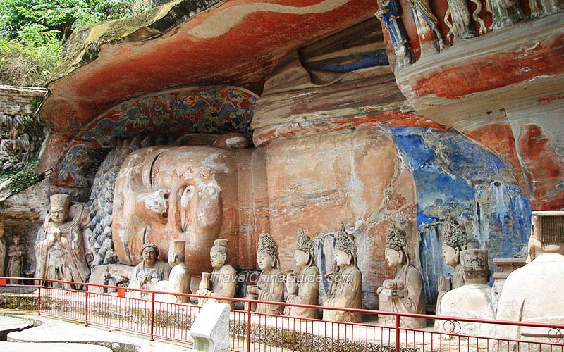 Chongqing dazu rock carvings pictures travelchinaguide