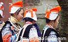 Special headdressing, Guizhou.