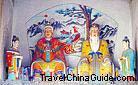 Statues of Medicine King's parents (Yaowang's parents)
