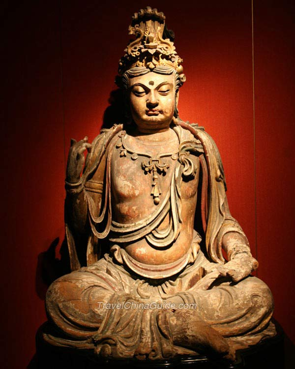Shanghai Museum Pictures: Ancient Chinese Sculpture Gallery