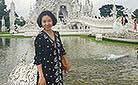 Wat Rong Khun (White Temple) in Chiang Rai, Thailand