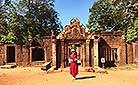 Banteay Srei Temple in Angkor Wat of Siem Reap, Cambodia