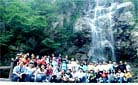 A big family of TravelChinaGuide - Summer outing in 2006