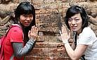 Aspara of Angkor, Cambodia - Staff training in 2009