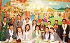 We usually arrange a la carte meals for our clients in this best local restaurant. Our staff is here for inspection. - Staff training in 2006