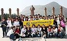 Zhaoling Mausoleum, the tomb of Tang Emperor Taizong, Xi'an - Staff training in 2009