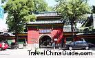 The main gate of Chunyang Palace in Taiyuan, Shanxi