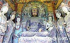 Maiji Mountain Grottoes are the fourth largest areas of Buddhist grottoes in China, after Magao Caves in Dunhuang, Yungang Grottoes in Datong and Longmen Grottoes in Luoyang.