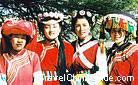 Yunnan is a place where minorities gather togther and you can enjoy the different and distinctive customs here.