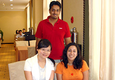 Our travel consultant Kina met her clients in Xian