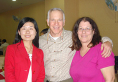Our customers Mr. Steven Ellis Norwitz and Ms. Sue Ellen Norwitz with our Travel Counsultant Tina
