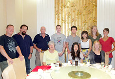 Our travel constultant Ruby met her guests in Xian