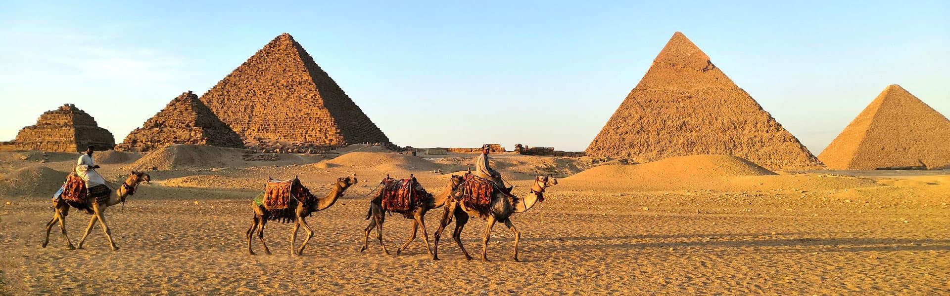 Giza Pyramids of Egypt
