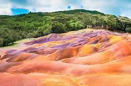 Chamarel 7 Coloured Earth