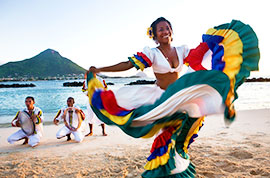 Local people in Mauritius