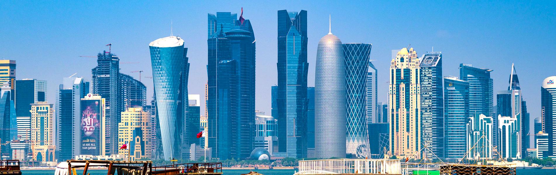 Skyscraper in Doha